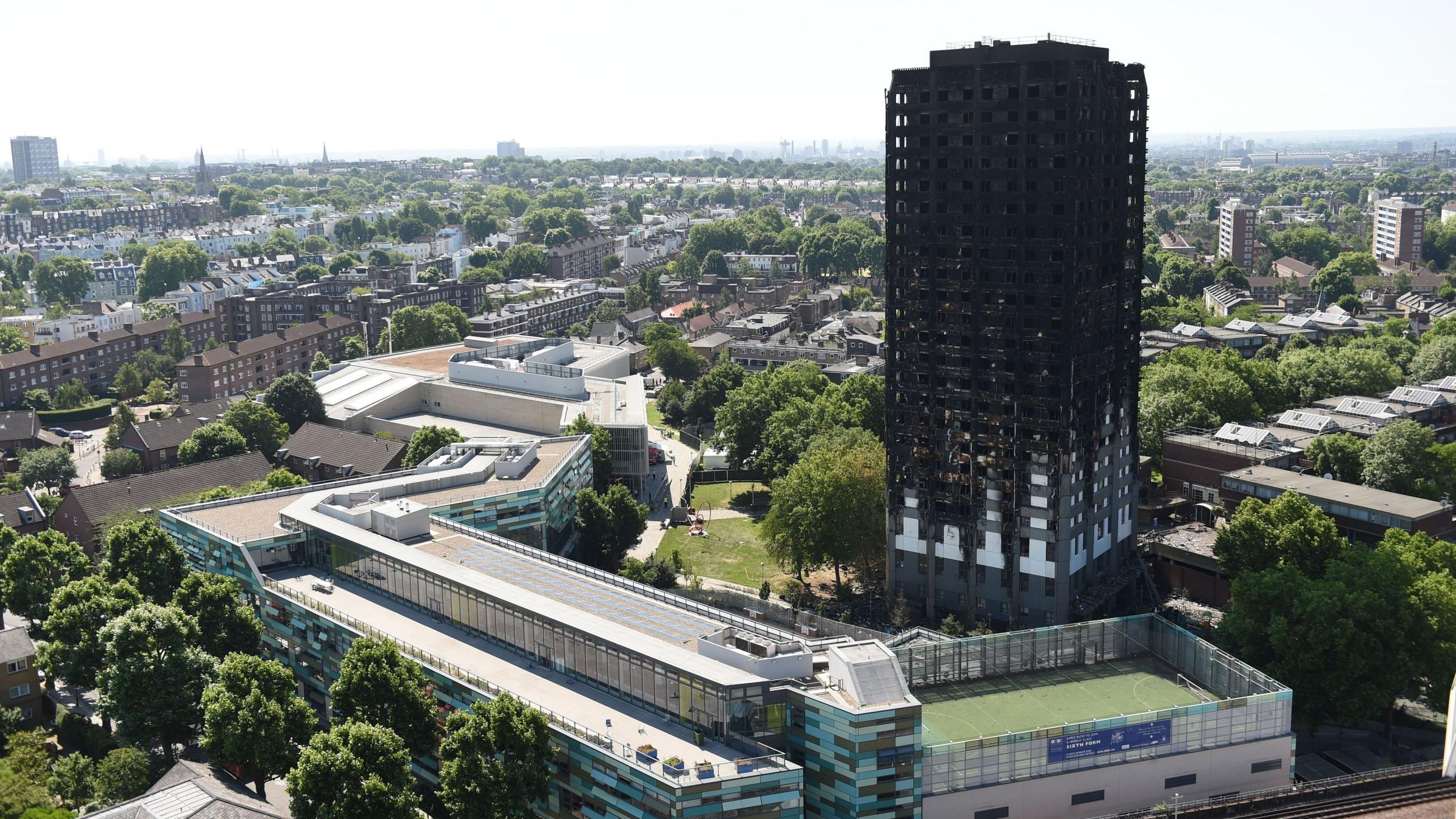 Grenfell Tower victims to get £5500 from emergency fund, Theresa May says